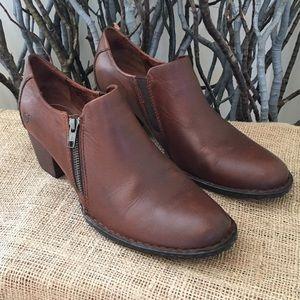 Born Sarella Leather Booties